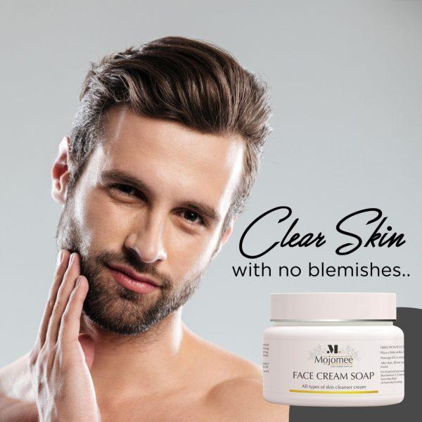 mens face cream soap online